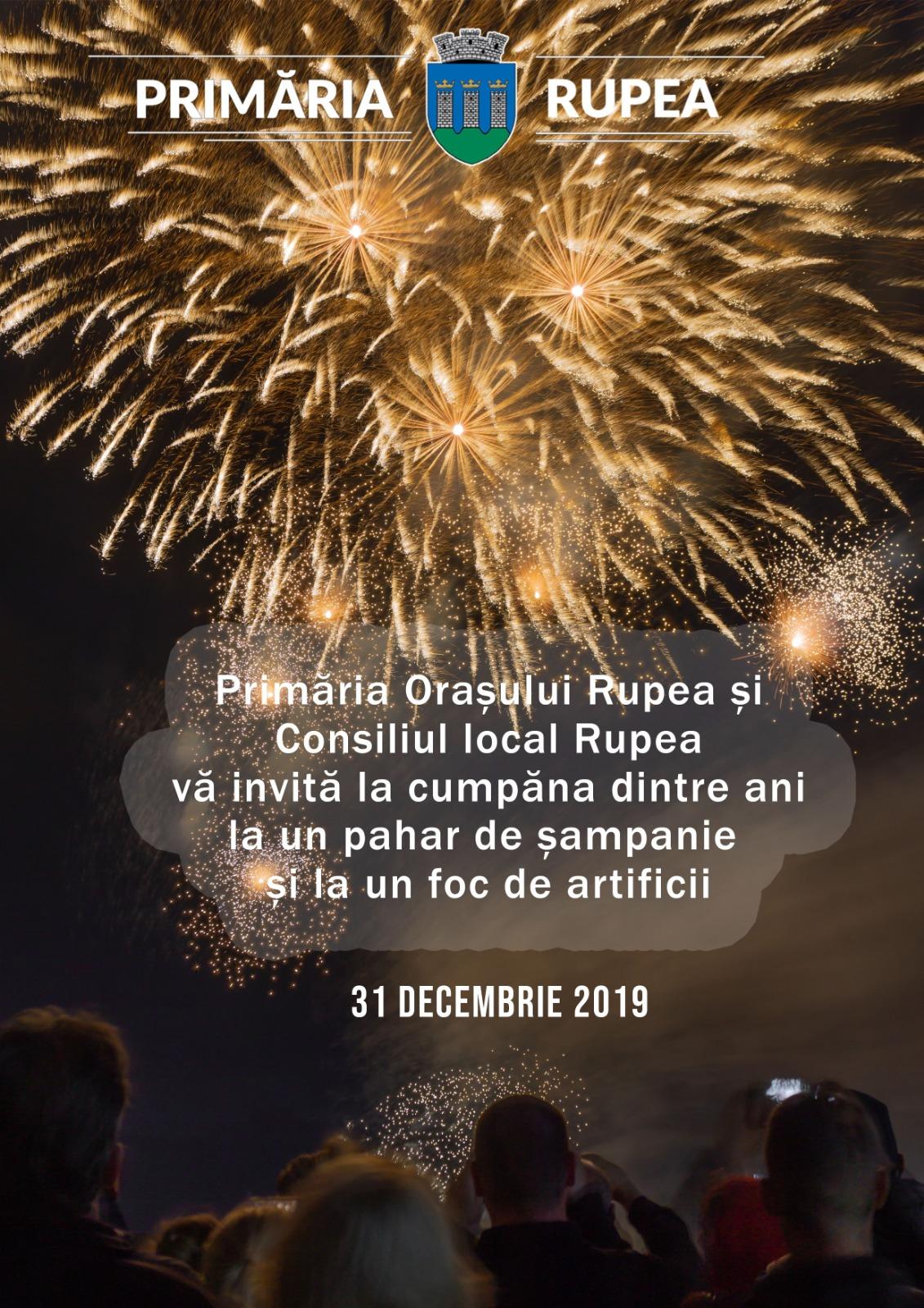 Invitatie revelion 2020