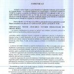 Comunicat UAT Rupea